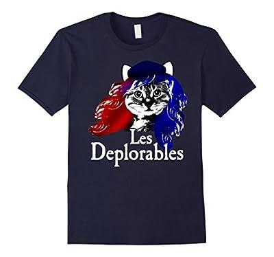 Les Deplorables Funny Cat Political Tee Shirt