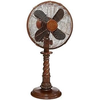 Amazon Com Decobreeze Oscillating Table Fan 3 Speed Air