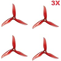 UUMART 12Pcs Dalprop Cyclone T5040C 5 Inch 3-blade Propeller for FPV Freestyle Drone Quadcopter