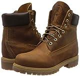 "Timberland Mens Heritage 6"" Premium Boot Burnt"