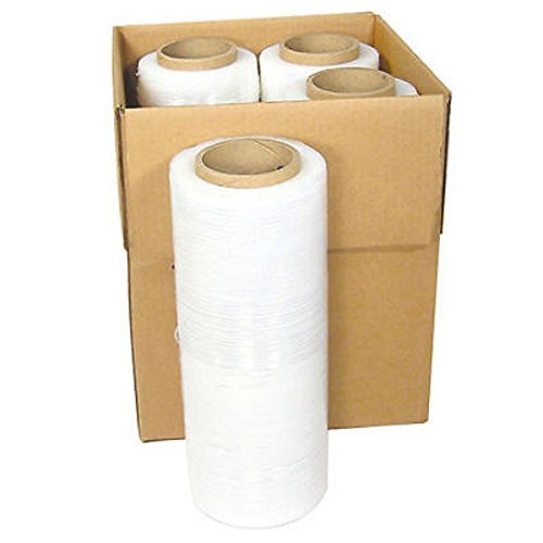 Handheld Stretch Wrap - Zoomvalue zoomvalue 80 Gauge Pallet Wrap Stretch Film Shrink Hand Wrap, 18