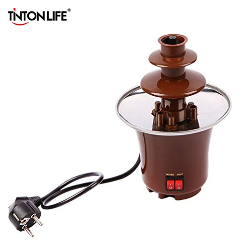 LIFE Creative Design Mini Chocolate Fountain for Sale Fondue Chocolate Melts With Heating