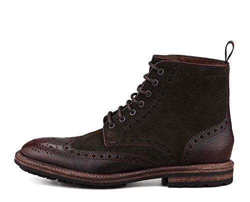 Hugo Boss Boss Black Mens Lumen Open Bruine Laarzen