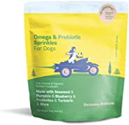 Because Animals Superfood & Probiotic Supplement for Dogs (4.4oz) - All-Natural, Human-Grade Ingredients -
