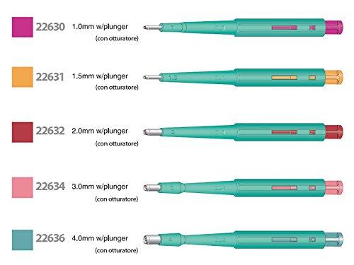 カイインダストリーズ KAI生検トレパン(プランジャー付) BPP-10F(1.0mm)20ホンイリ CMD-00251416   B075WZ631P