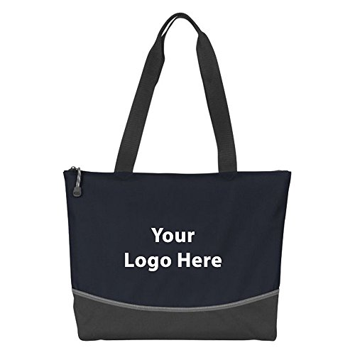 Indispensable Everyday Tote - 50 Quantity - $6.25 Each - PROMOTIONAL PRODUCT / BULK / BRANDED with YOUR LOGO / CUSTOMIZED by Sunrise Identity