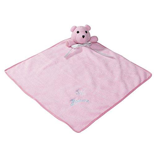 Zanies Snuggle Bear Blanket Dog Toys, Pink by Zanies
