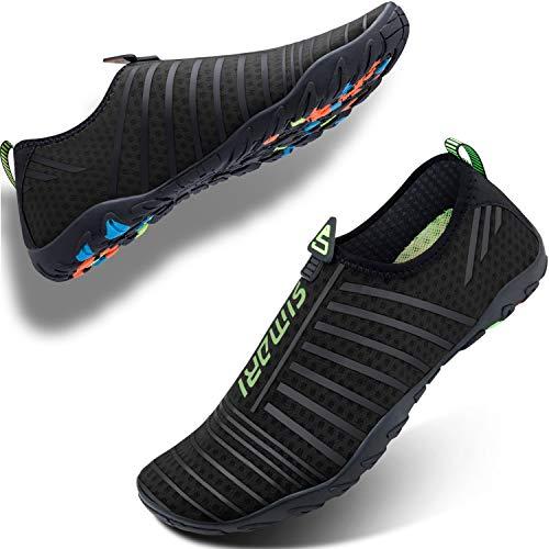 SIMARI Mens Womens Water Shoes Sports Quick Dry Barefoot Diving Swim Surf Aqua Walking Beach Yoga – Sports Center Store