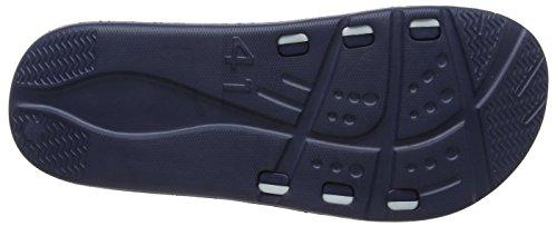 Gola Nevada, Zapatos de Playa y Piscina Hombre Azul (Navy/white)