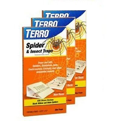 TERRO T3200 Spider & Insect Trap - 12 traps (not available for sale in NM)