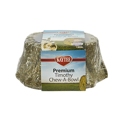 - Kaytee Premium Timothy Treat Chew-A-Bowl For Small Animals