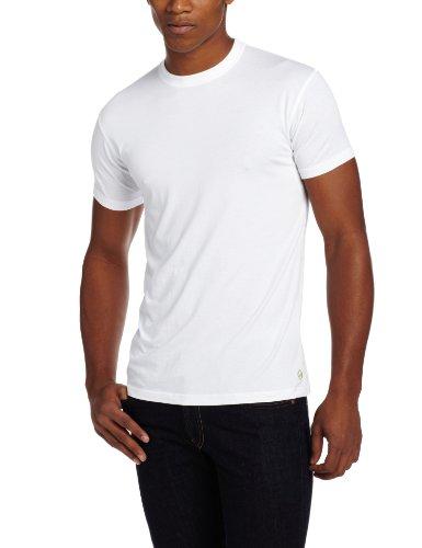 tasc Performance Crew Neck Undershirt, White, - Undershirt Performance