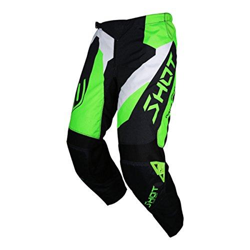 Green Motorcycle Pants - 2
