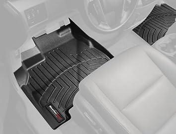 WeatherTech Custom Fit Front FloorLiner for Toyota Tundra Black
