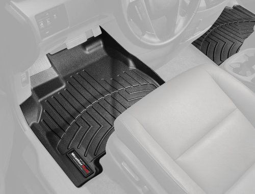 2018 Land Rover - WeatherTech Front FloorLiner for Select Land Rover Range Rover Evoque Models (Black)