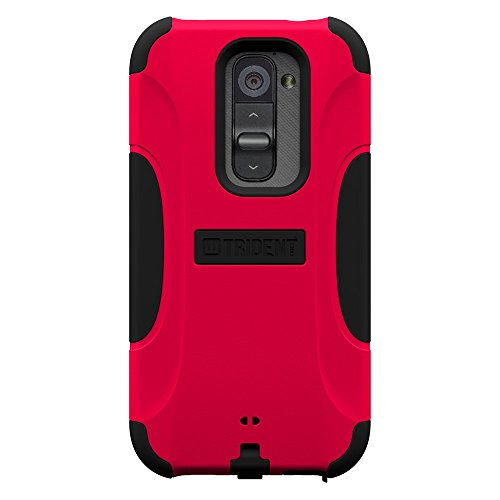 Trident Case Aegis Series for LG Optimus G2 - Retail Packaging - Red