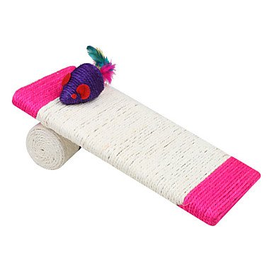 Quick shopping Tilting Sisal Mouse Style Cat Scratch Pad Scratcher