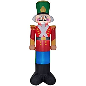 Christmas inflatable giant 16 39 nutcracker for 4 foot nutcracker decoration
