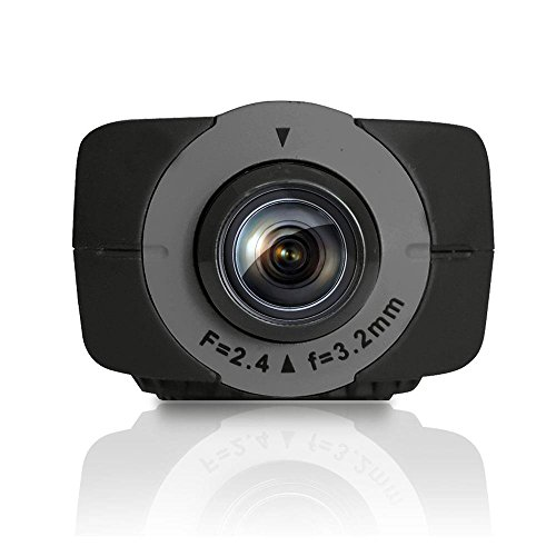 Sound Around GDV785BK HD Video Recording Gear Pro Ryder Action Camera, Hi-Resolution Fully HD, 16 MegaPixel Images, 1080p Video, Fold-Out 1.5-Inch LCD Display