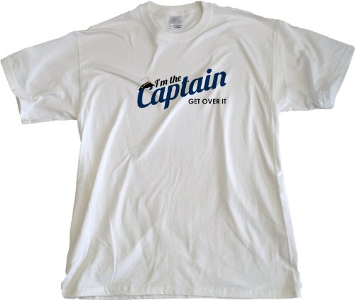 JTshirt.com-19959-Ann Arbor T-Shirt Co. Men\'s I\'M The Captain, Get Over It T-Shirt-B00DV9519W-T Shirt Design