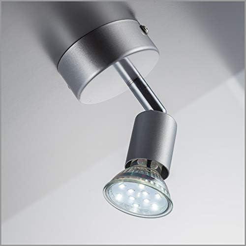 Schreib Tisch Lampe Leuchte Holz Schalter Grau Beleuchtung Wohn Schlaf Big.Light