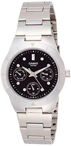 Casio Enticer Black Dial Women #39;s Watch   LTP 2083D 1AVDF  A528