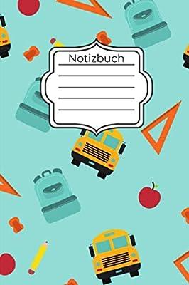 Notizbuch A5 Notizbuch Blanko Geschenk Zur Grundschule