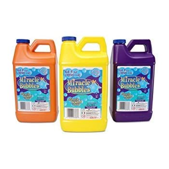 Darice 1021-13  Miracle Bubbles Solution Refill, 64-Ounce Bottle Colors May Vary