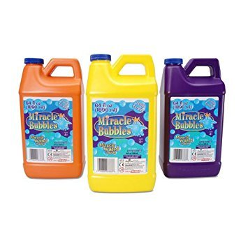Darice 1021 13  Miracle Bubbles Solution Refill  64 Ounce Bottle Colors May Vary