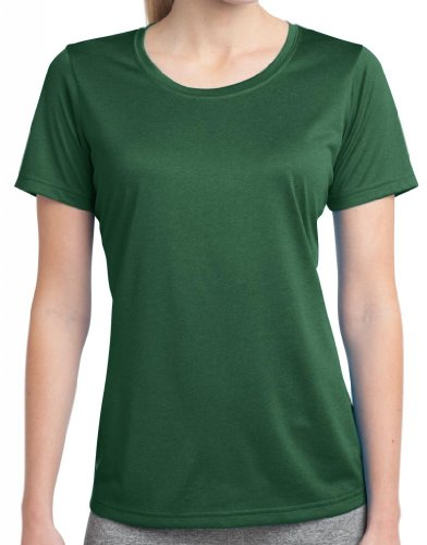 Yoga Clothing For You Ladies Scoop Neck Tee Shirt, 3XL Forest Green Review