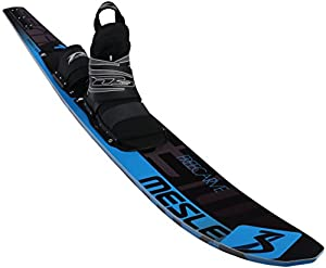 MESLE Monoski Freecarve blu 67, 170 cm Slalom Wasserski, mit D3 Leverage...