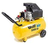 Wolf Sioux 50L Air Compressor 9.6CFM 2.5HP 230V 116psi