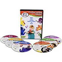 Brainy Baby Teach Your Child Preschool Learning Collection: Discovering The Basics Set of 6 DVDs Deluxe Edition