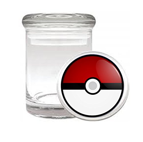 PokeBall-Anime-Video-Game-Medical-Odorless-Glass-Jar