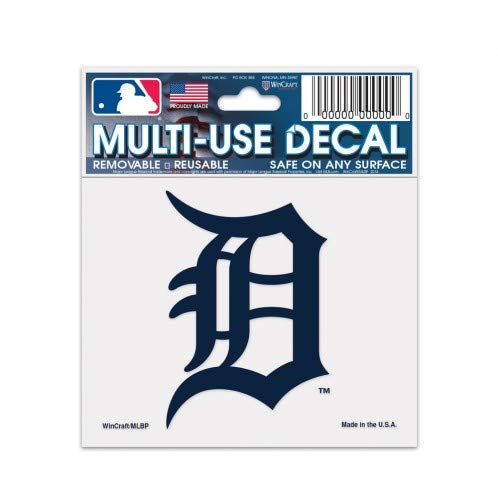 MLB Detroit Tigers 84486013 Multi-Use Decal, 3