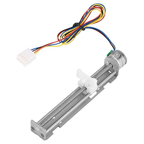 (Stepper Motor Slider, DC 12V Stepper Motor with Linear Screw Nut Slider for DIY Engraving Machine Motor)