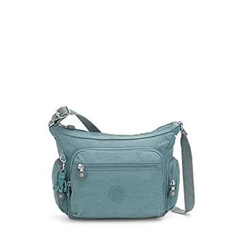 Kipling Gabbie Small Crossbody Bag, Aqua Frost