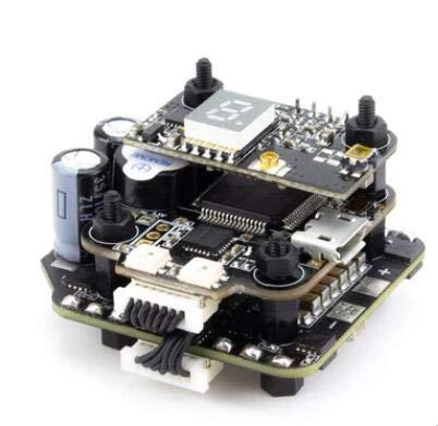 (SAUJNN Emax Mini Magnum 2 F4 Flight Controller MPU6000 6S BLHELI 32BIT 35amp BLHeli32 Capable ESC Board Current Sensor All-in-One Stack)