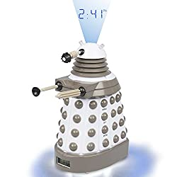 Underground Toys Doctor Who Dalek Projector Alarm Clock - Digital Timer with Dr. Who Sound Effects