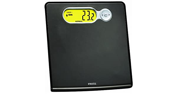 Amazon.com: HoMedics SC-501 Healthstation BMI Sport Scale, Black: Health & Personal Care