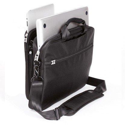 Black ful Joint Venture 2-in-1 iPad Messenger Bag