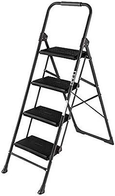 Taburete Con Peldaños, Escalera De Dos Escalones Escalera Con Dos Escalones Con Dos Escalones Escalera Pequeña Plegable (Tamaño : Four steps): Amazon.es: Bricolaje y herramientas