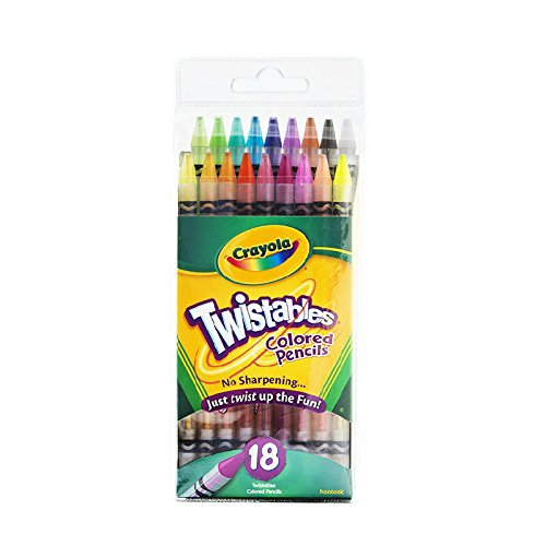 Crayola 18 Ct Twistables Colored -