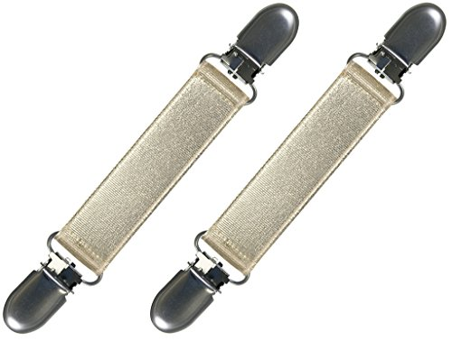 - Extra Strong Stainless Steel Elastic Mitten and Glove Clips,One Size,Gold