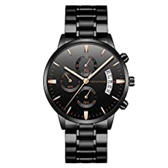 2019 Summer Deals ! Men Luxury Casual Wa...
