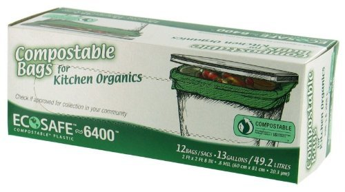 EcoSafe-6400 Compostable Food Waste Trash Bag by Presto Products ...