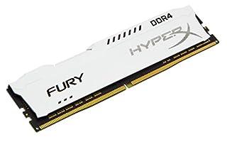 Kingston Technology HyperX Fury White 8GB 2666MHz DDR4 CL16 DIMM 1Rx8 (HX426C16FW2/8) (B06XKZM8DG) | Amazon price tracker / tracking, Amazon price history charts, Amazon price watches, Amazon price drop alerts