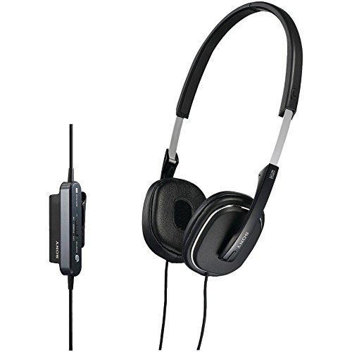 (Sony MDR-NC40 Noise Cancelling Headphone (Black) (Certified Refurbished))