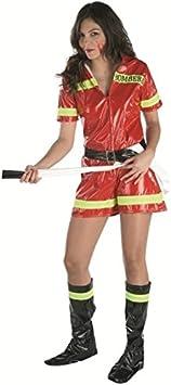 Disfraz bombera adulto. Talla 42/44.: Amazon.es: Juguetes y juegos