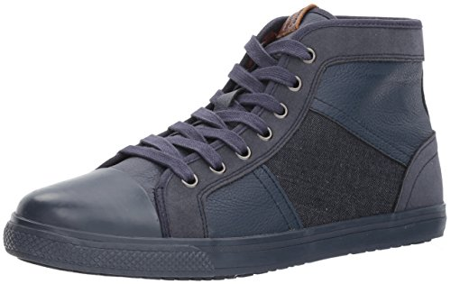 Ben Sherman Mens Madison Hi Sneaker Marine / Marine